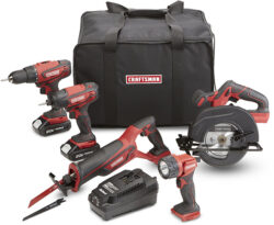 Sears Craftsman 20V Cordless Power Tool Combo Kit