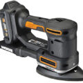 Worx 20V Multi-Sander WX820L with Triangular Pad