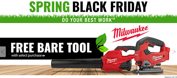 Acme Tools Spring Black Friday 2019