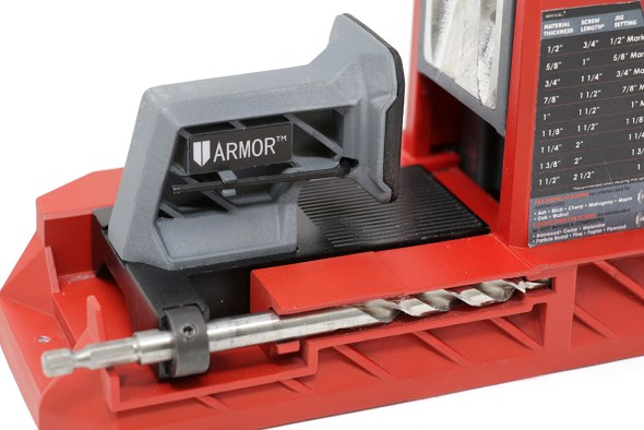 Armor Tools Pocket Hole Jig - Depth Setter