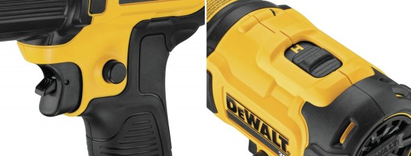 Dewalt DCE530 20V Max Heat Gun Trigger and Heat Control