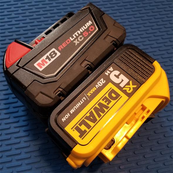 Dewalt Milwaukee Cordless Power Tool Battery April Fools 2019