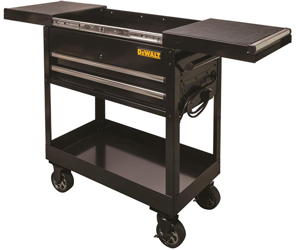 Dewalt Utility Cart with Drawers and Sliding Top