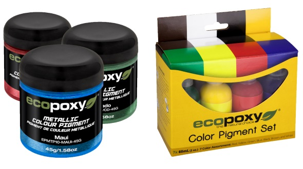 EcoPoxy Pigments and Metalics
