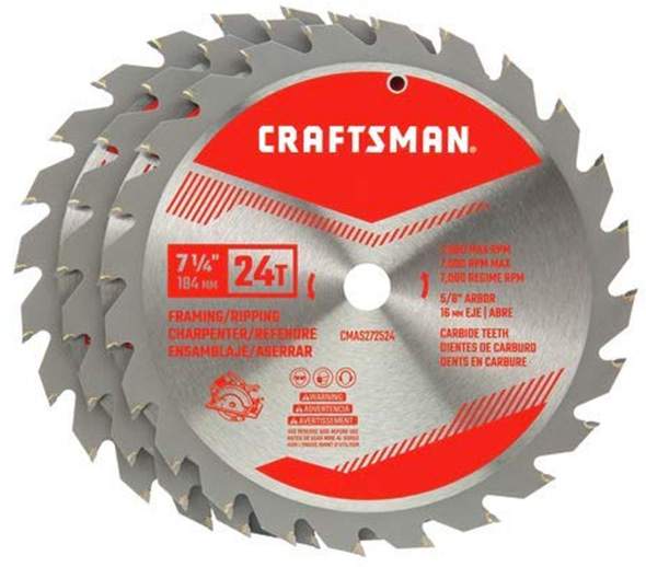 New Craftsman Circular Saw Blades