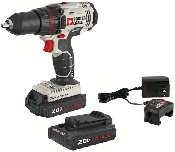 Porter Cable PCC601LB Cordless Drill Kit
