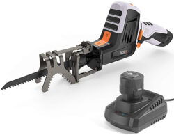 Tacklife Compact Cordless Reicprocating Saw with Branch Jaws
