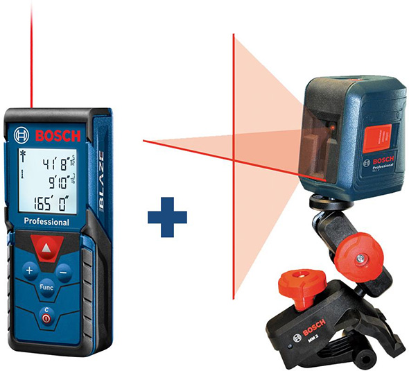 Bosch Laser Measuring Tool Bundle Deal May 2019