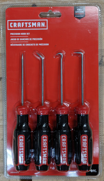 Craftsman Hook and Pick Set in Package