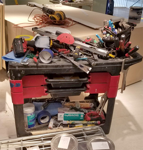 Ikea Workers Tool Cart