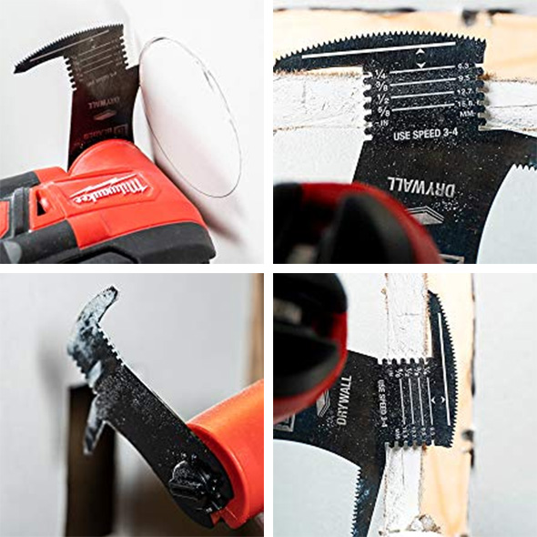 Imperial Tools One-Fit Drywall Oscillating Multi-Tool Blade Applications