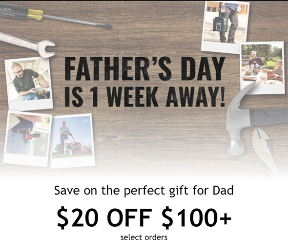Acme Tools Fathers Day Promo 2019