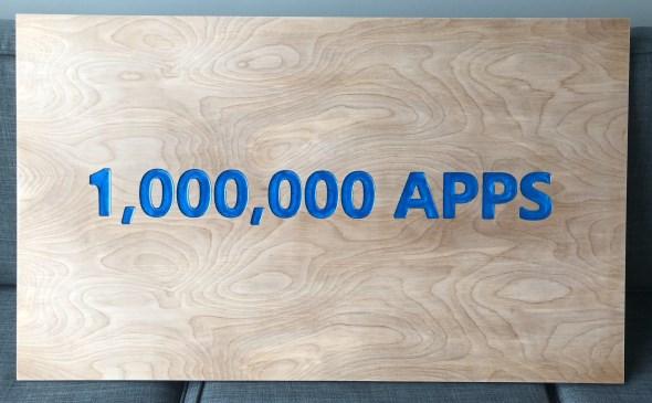 CNC Basics - My 1,000,000 Apps Plaque