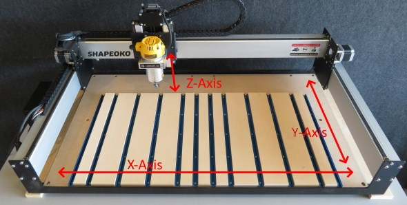 Carbide 3D Shapeoko 3 XL CNC - Z Y X axis basics