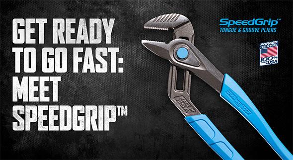 Channellock SpeedGrip Adjustable Pliers