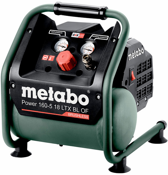 Metabo 160-5 18 ltx bl of Cordless Air Compressor