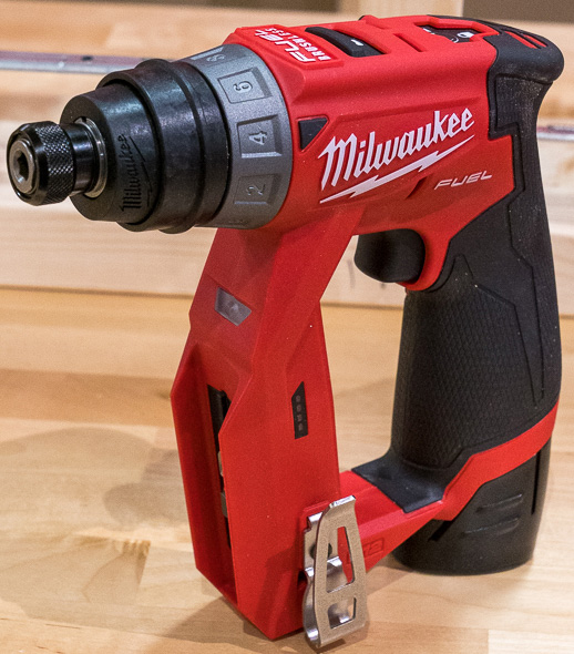 Milwaukee M12 Fuel Cordless Installation Drill Driver Tool with Hex Chuck