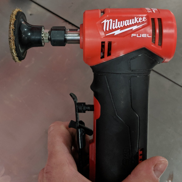 Swell New Milwaukee M12 Fuel Right Angle Die Grinder Bralicious Painted Fabric Chair Ideas Braliciousco