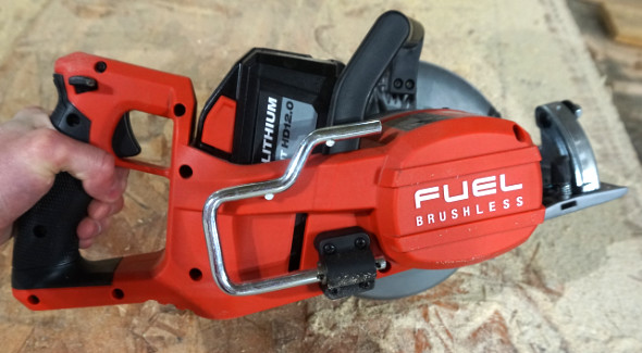 Milwaukee M18 Fuel 7.25 inch Rear Handle Circular Saw Rafter Hook
