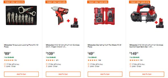 Milwaukee Tools Deals of the Day 6-10-19 Page 2