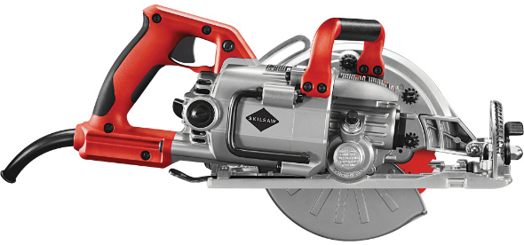 Skilsaw worm drive saw example