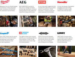 TTI Tool Brands Including Milwaukee and Ryobi