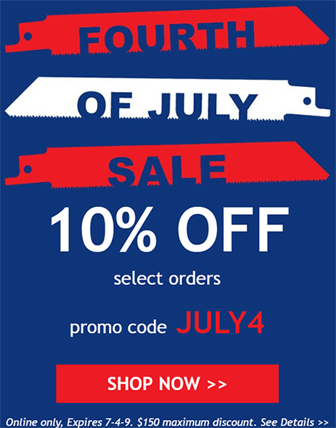 Acme Tools July 4th 2019 Discount