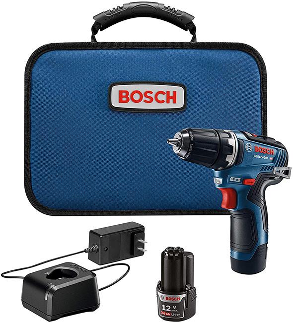 Bosch GSR12V-300B22 12V Brushless Cordless Drill Kit
