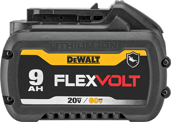 Dewalt DCE700X2 FlexVolt Cordless Pipe Threader Battery DCB609G