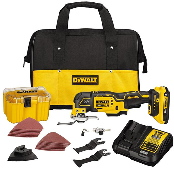Dewalt DCS356 Cordless Oscillating Multi-Tool Kit DCS356D1