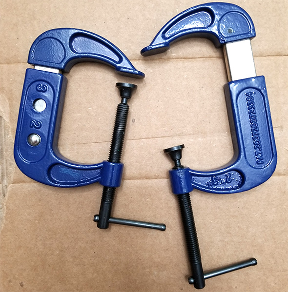 Gibraltar Adjustable C-Clamps