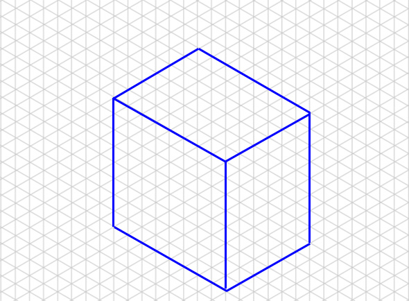 Isometric Drawing Example