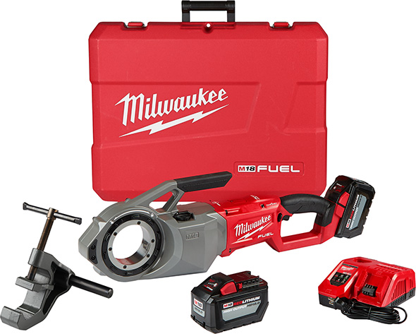 Milwaukee 2874-22HD M18 Fuel Cordless Pipe Threader