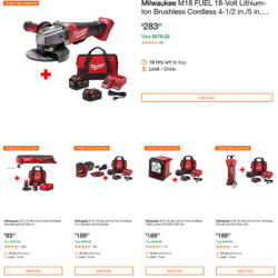 Milwaukee Cordless Power Tool Deals of the Day 7-24-19 Page 1