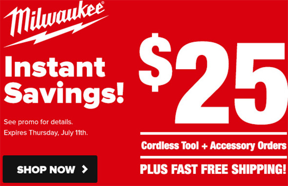 Milwaukee Tool Promo Tool Nut July 2019