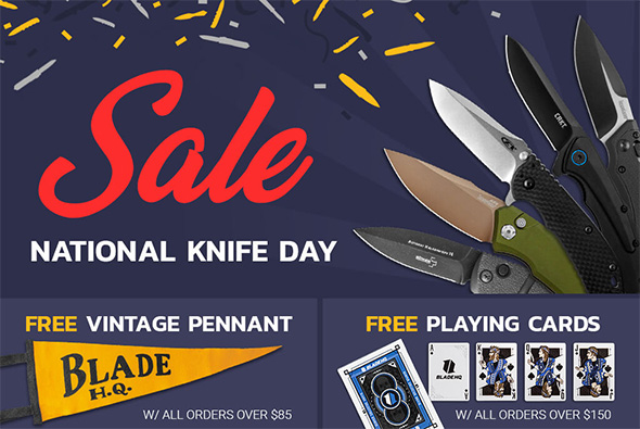 BladeHQ Knife Day Sale 2019