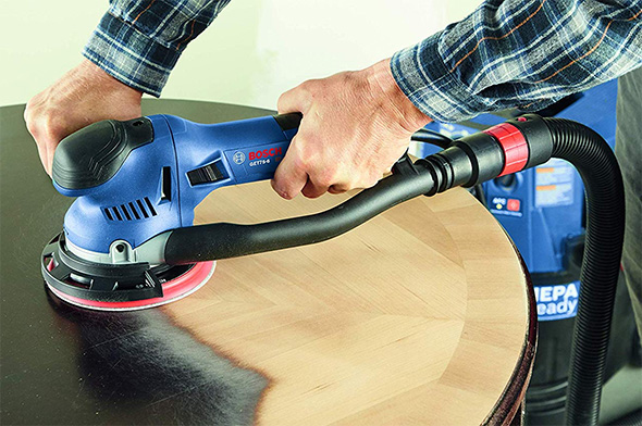 Bosch GET75-6N Dual Mode Sander Refinishing Table
