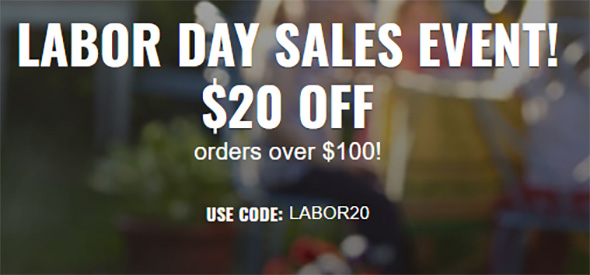 CPO Tools Labor Day 2019 20 off 100 Promo