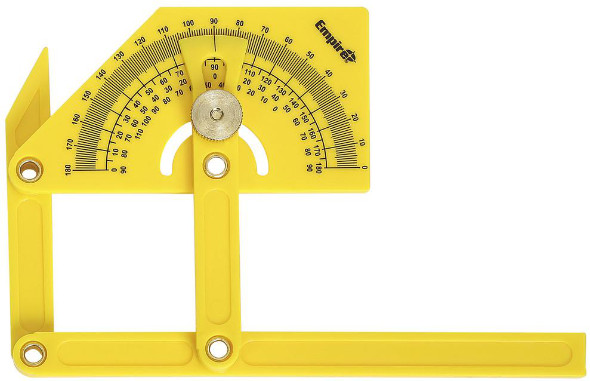 Empire Level polycast protractor and angle finder