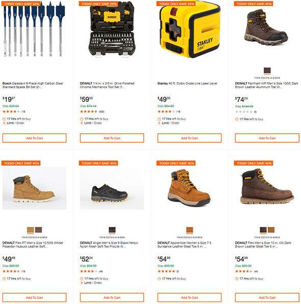 Home Depot Dewalt Tool Deals of the Day 8-29-19 Page 2