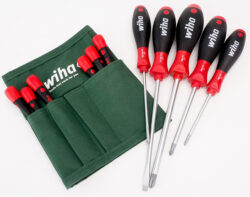 KC Tool Wiha Promo Screwdriver Set August 2019 with Pouch