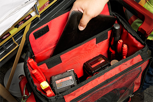 Milwaukee Packout Tech Tool Bag Internal Compartments