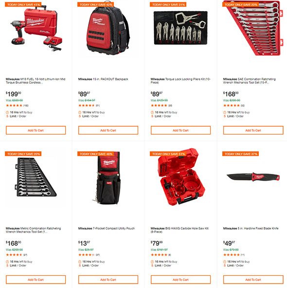 Milwaukee Tool Deals of the Day 8-19-2019 Page 3