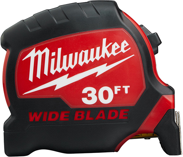 New Milwaukee Wide Blade Tape Measures