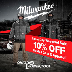 OPT Labor Day 2019 Milwaukee Heated Gear Sale