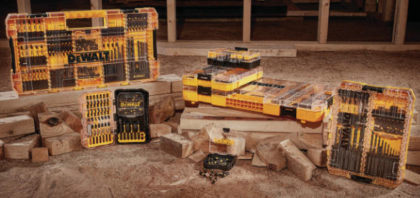 Dewalt ToughCase+ Clear Accessory Box Lineup