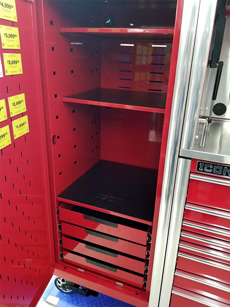 Harbor Freight Icon Side Locker