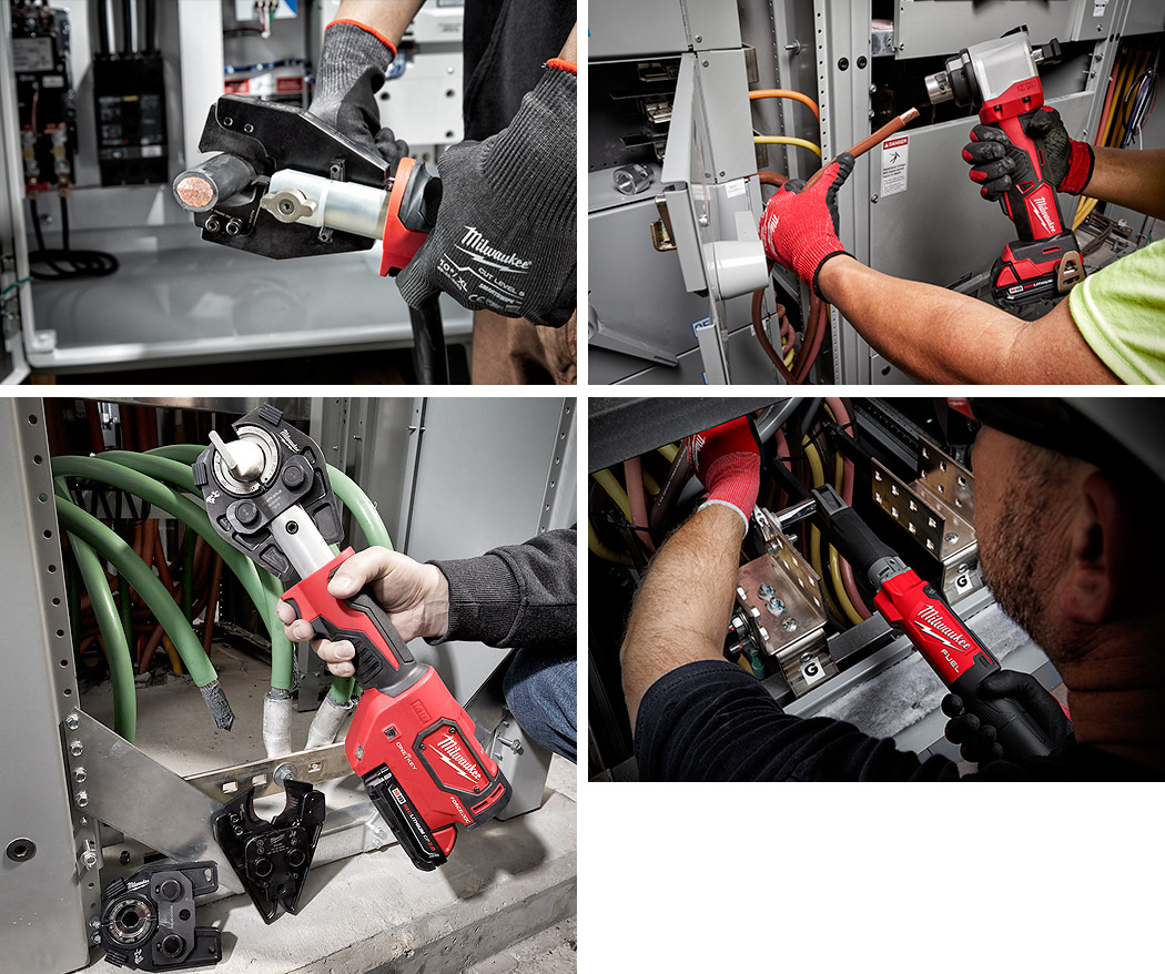Milwaukee Cordless Commercial Wiring Applications