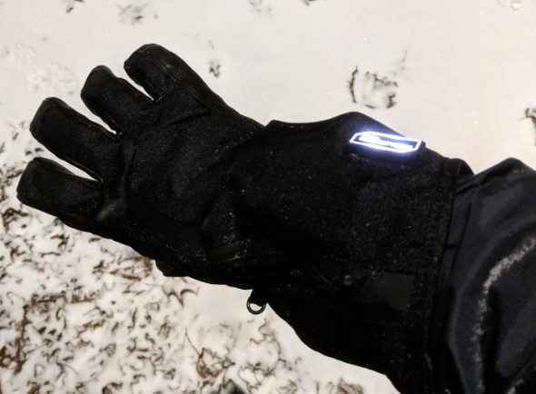 Milwaukee Heated Gloves In the Snow