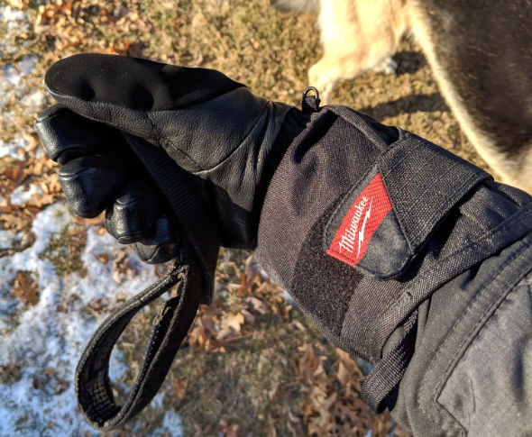 Milwaukee Heated Gloves Walking the Dog